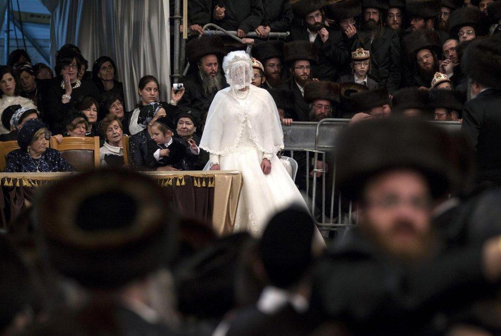 Fotos: Boda judía ultraortodoxa en Jerusalén | Internacional | EL PAÍS