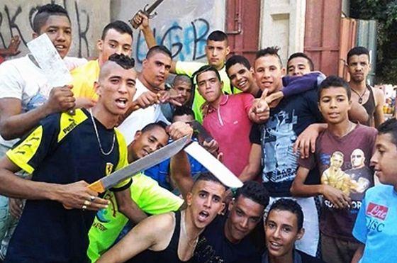 Resultado de imagen de marroquies peligrosos banda