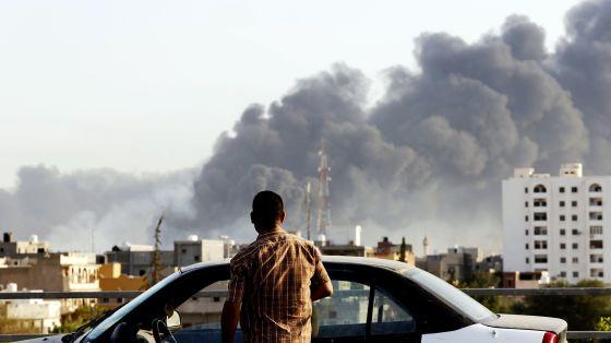 Resultado de imagen de ataque en libia