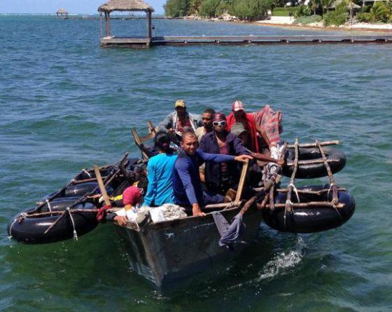 Una nueva oleada de balseros de Cuba se lanza al mar | Internacional | EL  PAÍS