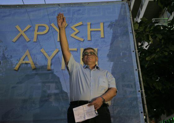 Aurora Dorada: Los neonazis griegos aspiran a revalidar su tercer puesto en  las urnas   Internacional   EL PAÍS
