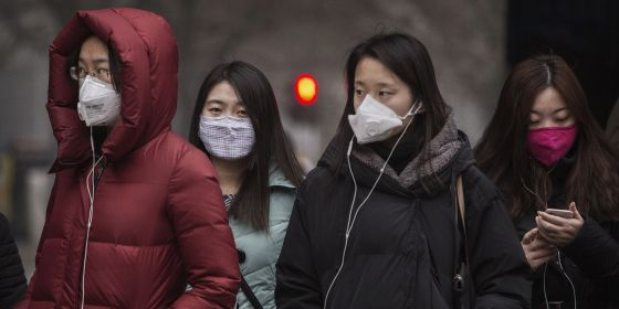 Pekín, un mar de mascarillas | Internacional | EL PAÍS