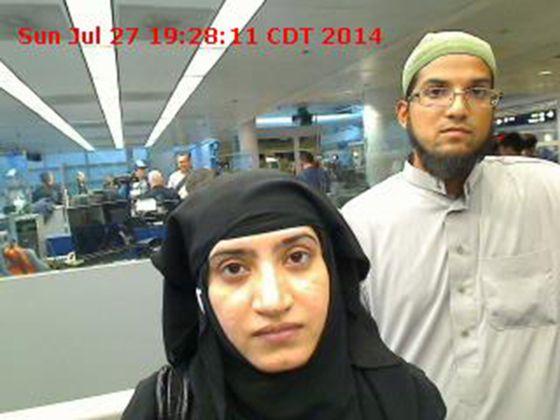 Resultado de imagen para Syed Farook y su esposa, Tashfeen Malik