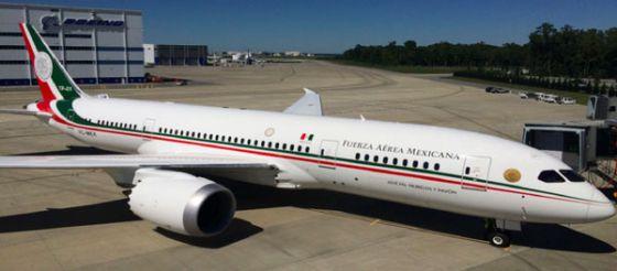 Resultado de la imagen para avión presidencial mexicano