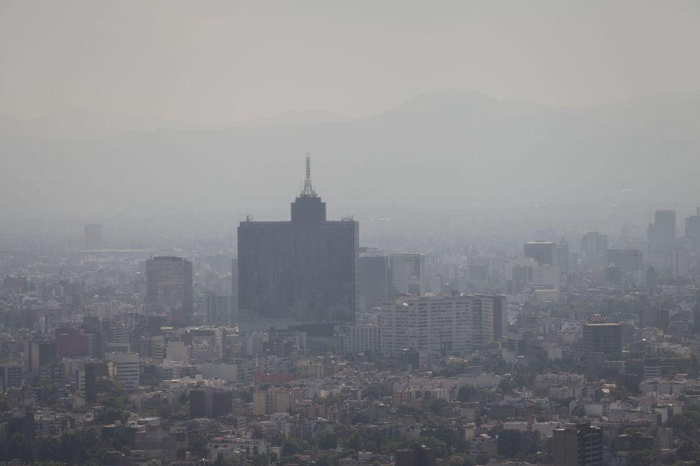 Resultado de imagen para ciudad de mexico contaminación