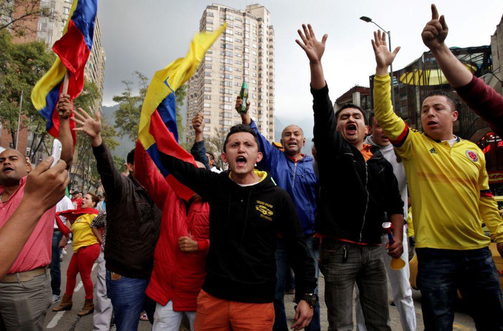 Resultado de imagen para protesta colombia
