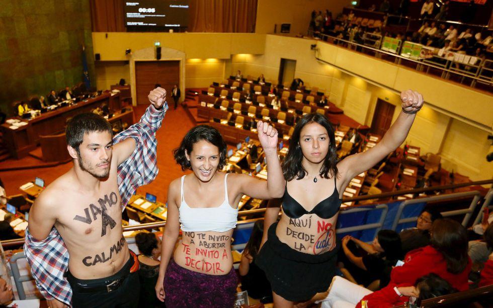 Chile Da Un Paso Historico Hacia Su Ley De Aborto Internacional El Pais