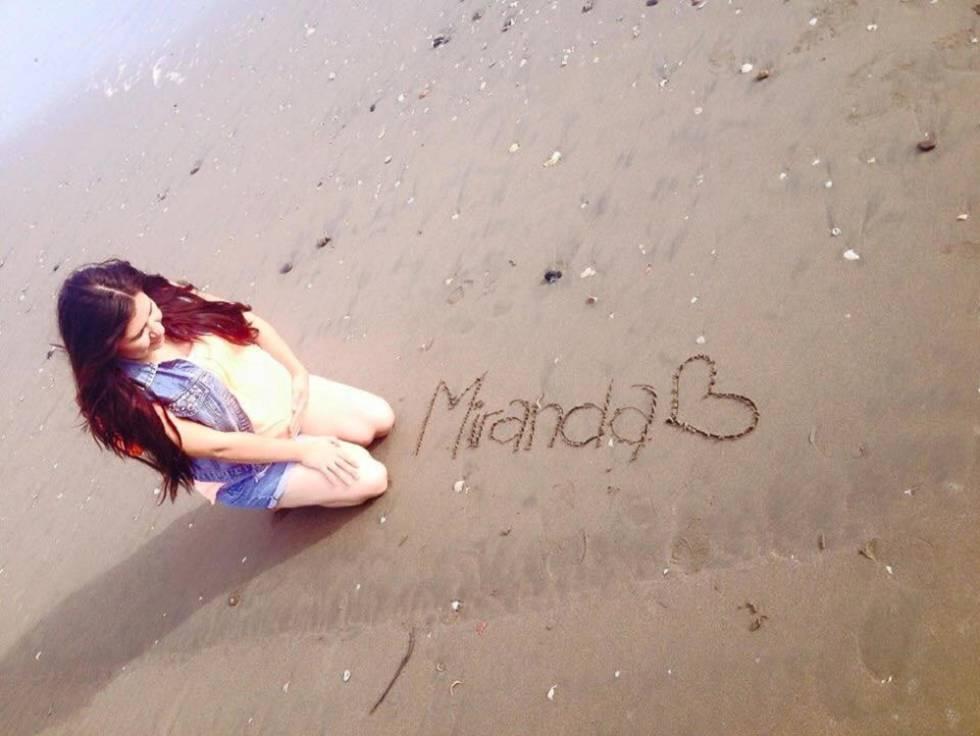1b37a0ca0 Lidia durante el embarazo de su hija Miranda