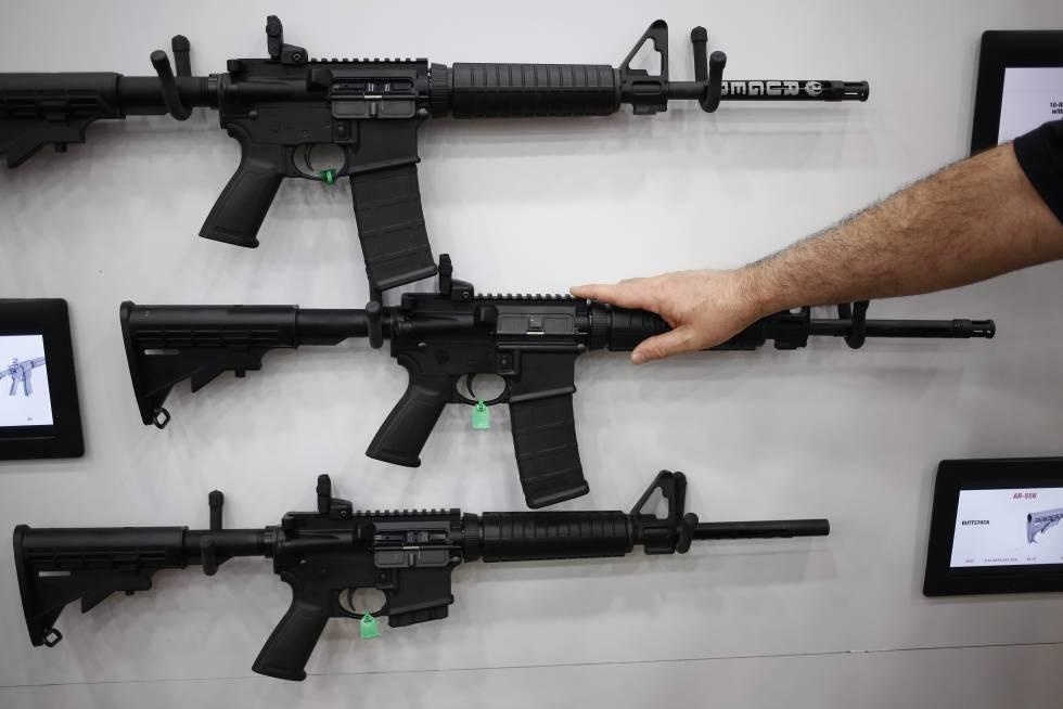 Ar 15 Rifle Usado Em Massacre Em Orlando Arma De Guerra Do Ex Rcito Dos Eua Internacional