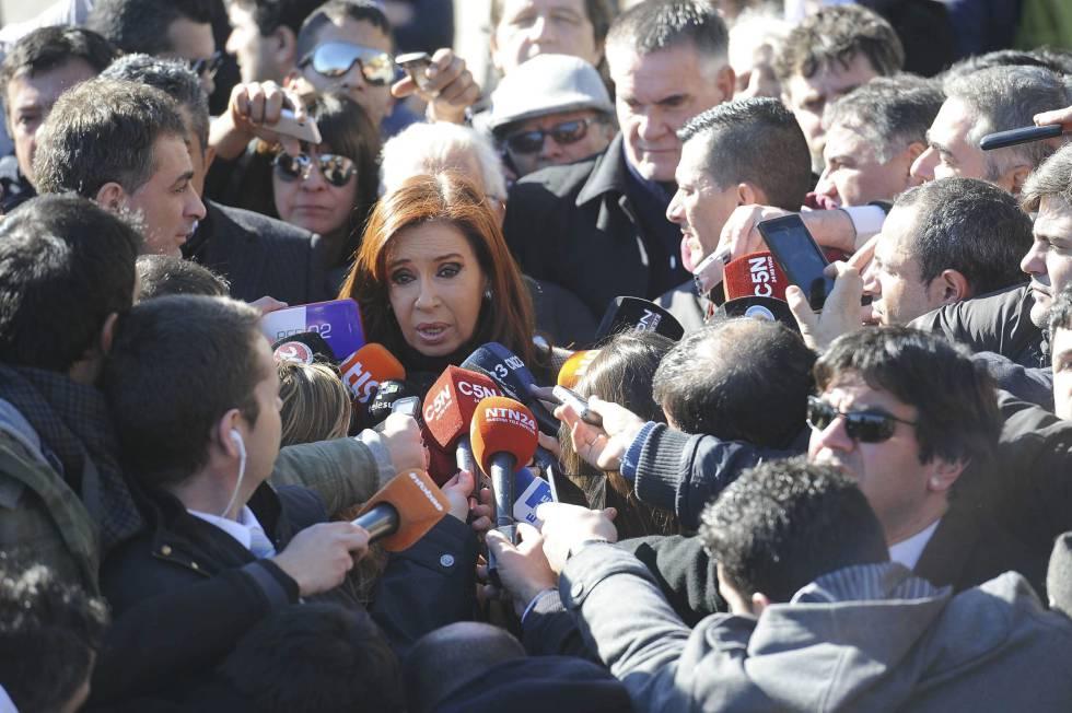 Resultado de imagen para argentina cristina en tribunales