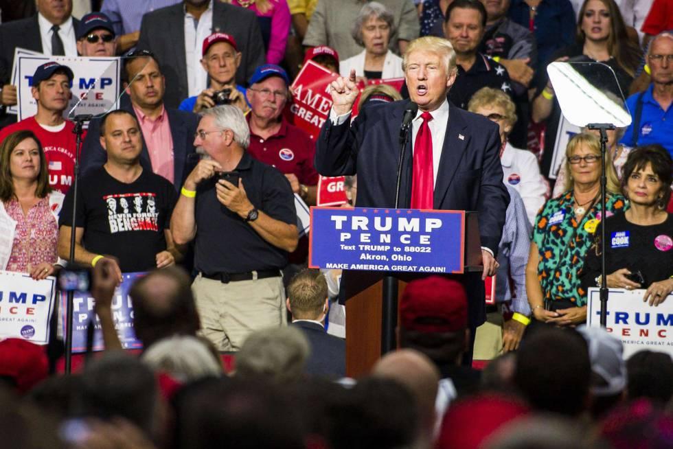 Donald Trump corteja a las minorías que antes insultó   Estados ...