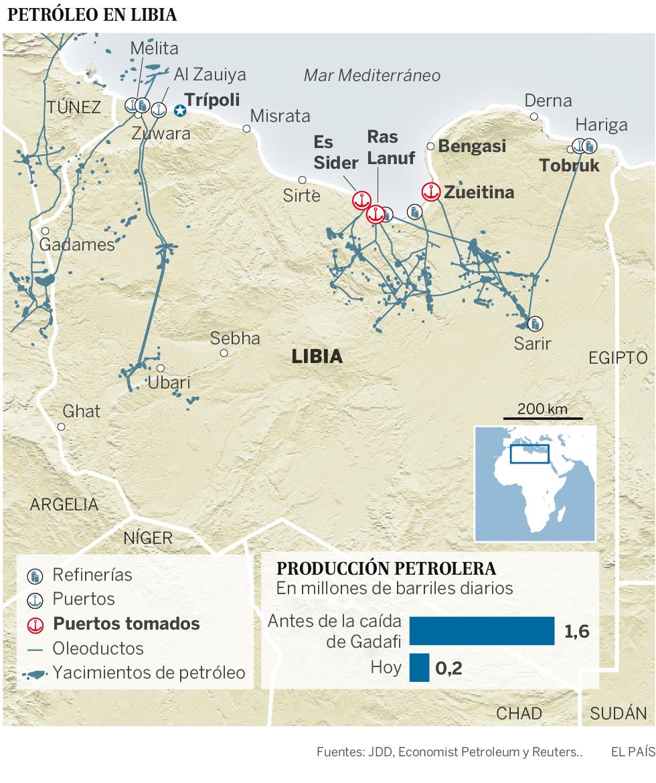 Mapa de Líbia ilustração do vetor. Ilustração de grande ...  Libia