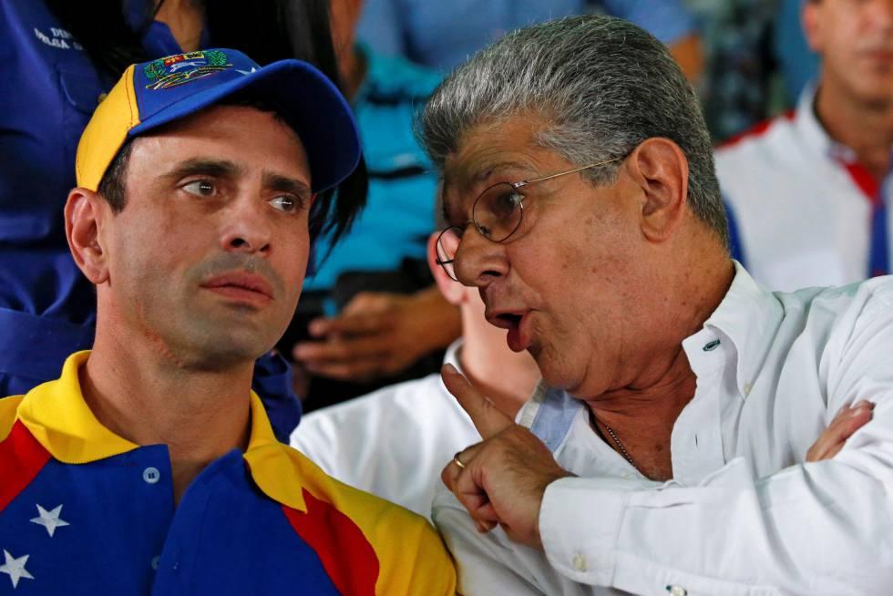 Resultado de imagen para capriles y ramos allup