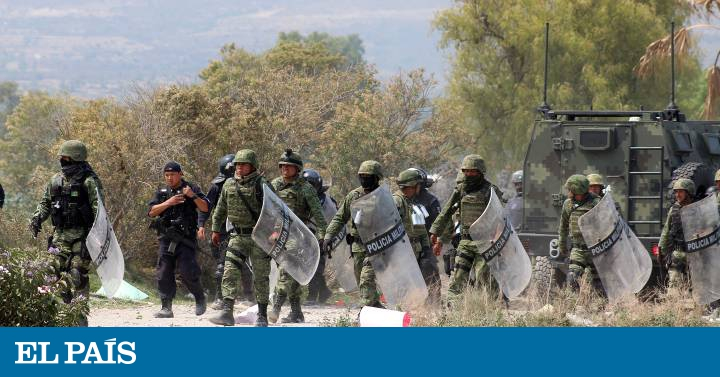 Mexicano Ejército Toma De El Los País 'chupaductos' NwOm8nv0