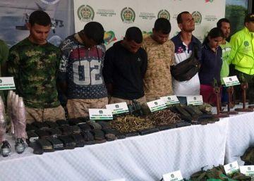 Colombia intensifica la lucha contra el crimen organizado tras la paz con las FARC
