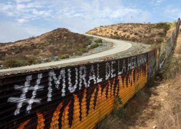 Trump admite que no hace falta un muro en toda la frontera con México