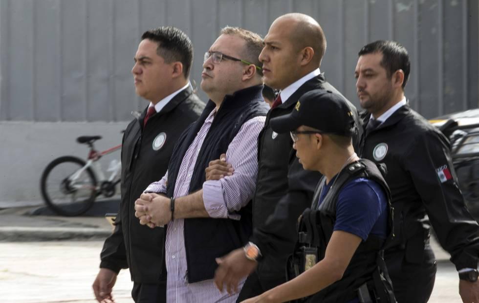 Javier Duarte, procesado por lavado de dinero y delincuencia organizada