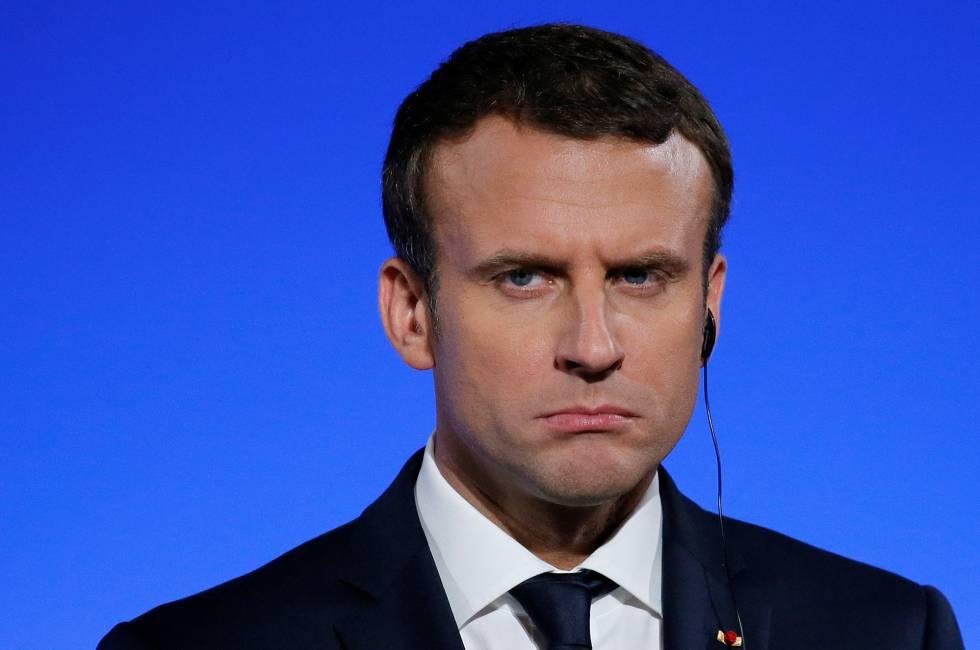 La popularidad de Macron se desploma en Francia