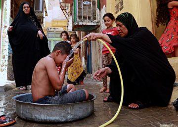 Irak decreta un día de descanso obligatorio por el excesivo calor
