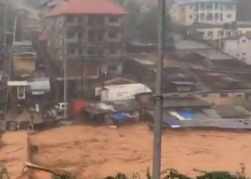 Al menos 312 muertos por las lluvias y avalanchas de lodo en Sierra Leona