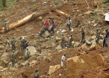 El presidente de Sierra Leona pide ?ayuda urgente? ante la catástrofe por los deslizamientos de tierra