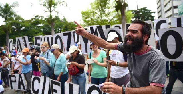 La oposición del futuro en Venezuela está en la calle