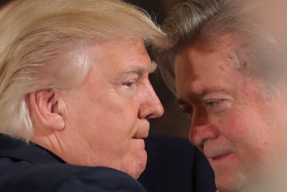 """Steve Bannon tras su salida de la Casa Blanca: """"La presidencia por la que luchamos, y ganamos, ha terminado"""""""