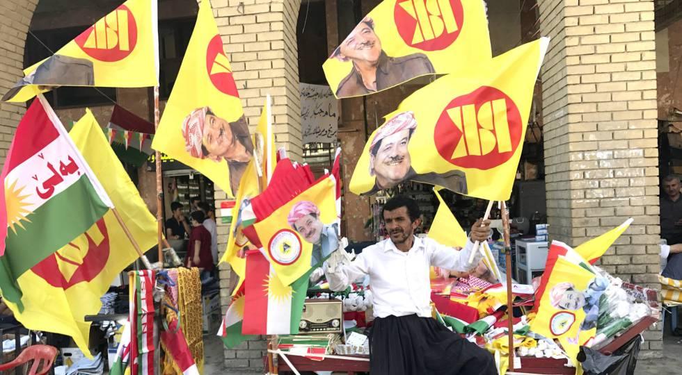 El líder kurdo de Irak mantiene el referéndum de independencia pese a las presiones