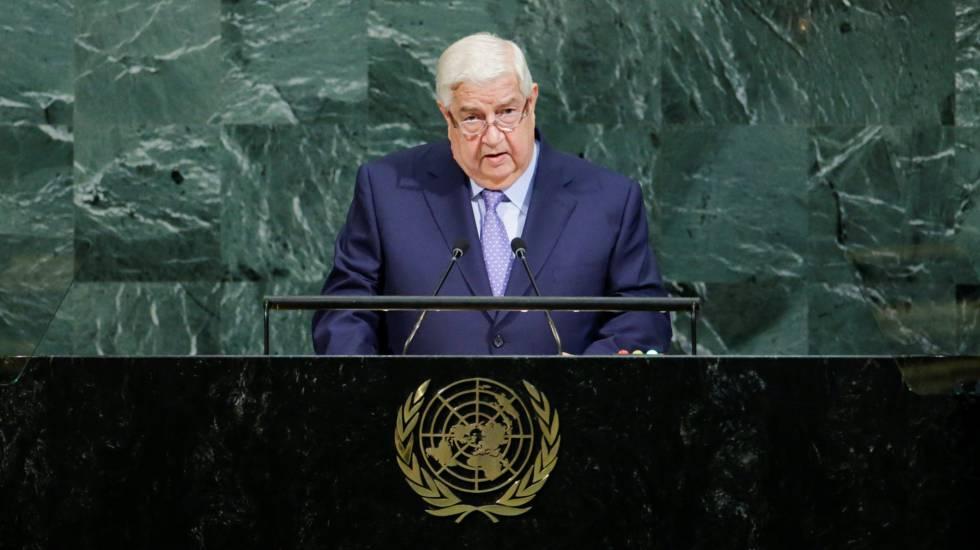 El régimen sirio proclama en la ONU que acaricia la victoria en la guerra