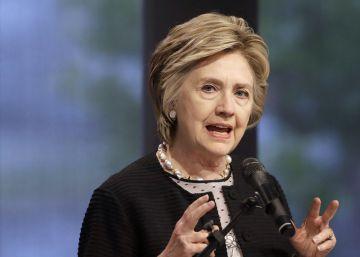 Hillary Clinton condena los abusos sexuales de Weinstein