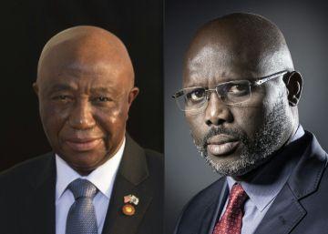 El exfutbolista Weah y el vicepresidente Boakai lucharán por la presidencia de Liberia