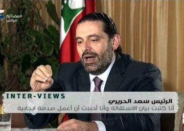 El dimitido Hariri asegura que volverá a Líbano muy pronto