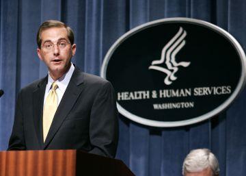 Trump encomienda el departamento de Salud a un ejecutivo de la industria farmacéutica