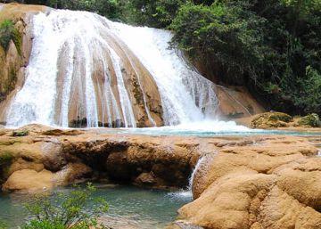 El día que se quedaron sin agua las cascadas más famosas de Chiapas