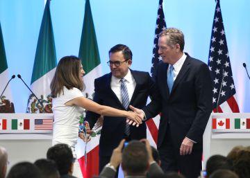 La negociación del TLC encalla ante la falta de interlocución entre México y EE UU