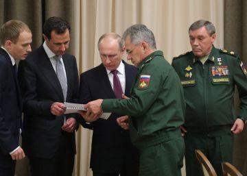Putin y El Asad tratan de acelerar una salida política en Siria