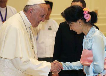 El papa Francisco pide a Myanmar respeto por las minorías pero evita la palabra rohingya