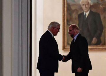 Merkel y Schulz celebran su primera reunión con vistas a un posible pacto de Gobierno