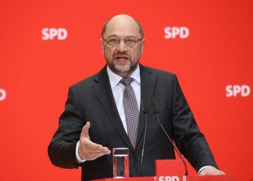 Schulz condiciona un pacto de Gobierno con Merkel a la reforma de la Eurozona