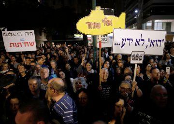 Netanyahu frena una ley que le protegía de la policía tras una masiva protesta