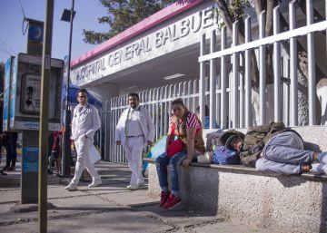 Hospitales de guerra en Ciudad de México