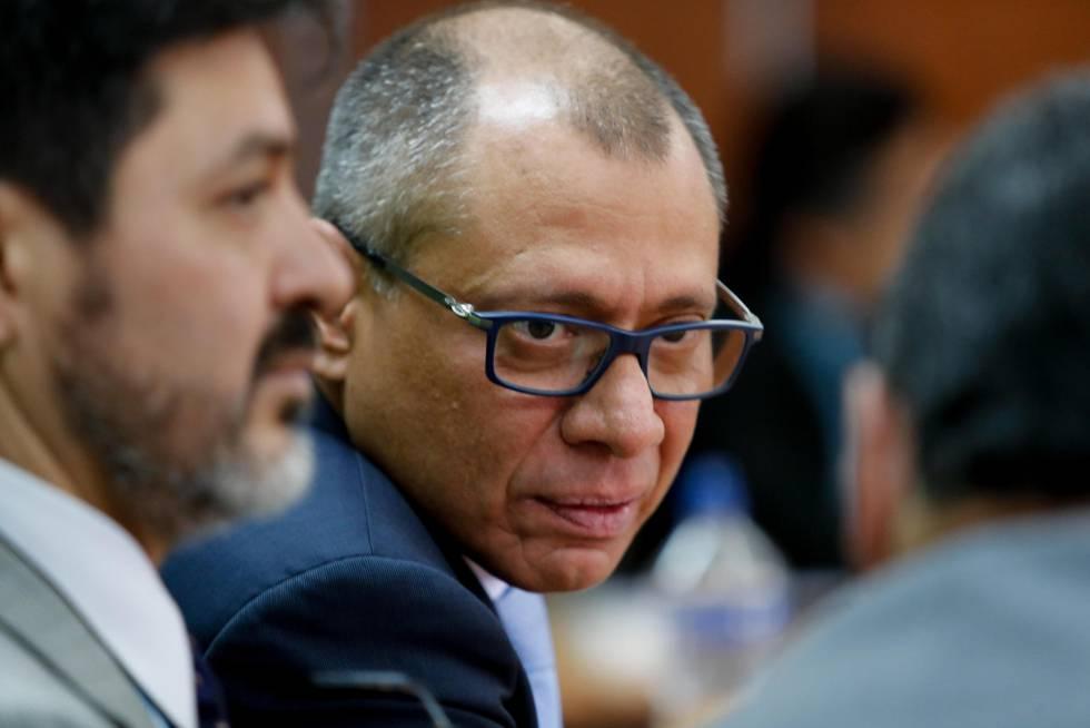El vicepresidente de Ecuador, condenado a seis años por el ?caso Odebrecht?