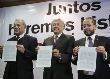 López Obrador se alía con el conservador Encuentro Social para las elecciones de 2018