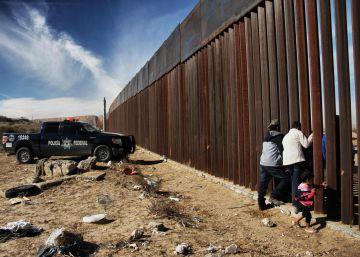 El muro con México, elemento central de la estrategia de seguridad de Trump
