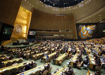 Trump hace en la ONU un duro alegato contra la globalización