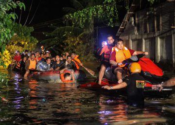Una tormenta tropical causa más de 180 muertos en Filipinas