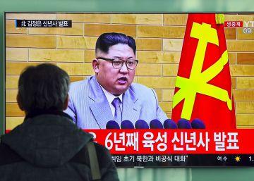 """Kim Jong-un llama a la """"producción masiva"""" de armas nucleares"""