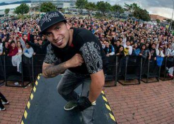 La incansable búsqueda de un cantante de rap desaparecido en Bogotá