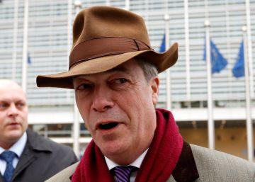 Farage llama a los suyos a prepararse para un nuevo referéndum del Brexit