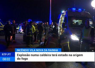 Ocho muertos y 50 heridos en el incendio de un local de una asociación en Portugal